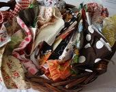 Fabric Scrap Bundle-Flat Rate Box-Eclectic Stash 3