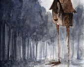 Baba Yaga's House Grew Tall - Small Print