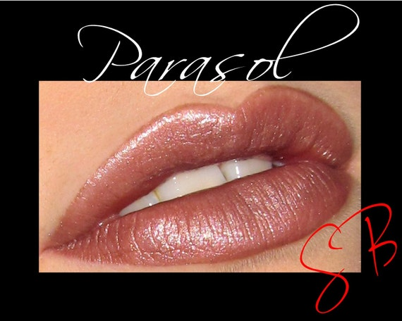 Parasol Mineral Lipstick (Medium taupe brown) makeup  Cheek and Lip Color