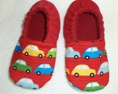 Beep Beep VW Bug Toddler Slippers