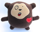elliot - the monkey weirdo - plush stuffed toy