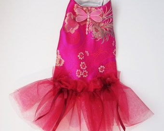 dog clothes dresses: tutu holiday