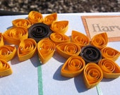 Harvest Time Quilled Flower Card