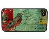 Tattered Bird Collage Phone Case for  iPhone 4 4s 5 5s 5c SE 6 6s 7  6 6s 7 Plus Galaxy s4 s5 s6 s7 Edge