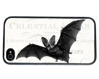 iphone 6 case Vintage Bat iPhone 4 Case, fits iPhone 4 and 4s, Halloween - iPhone 5 Case - Galaxy s3 s4 s5