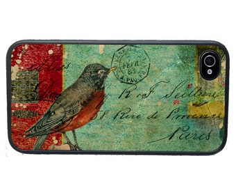 iphone 6 case Tattered Bird Collage iPhone 4 Case, fits iPhone 4 and 4s, - iPhone 5 Case - Galaxy s3 s4 s5