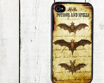 iphone 6 case iPhone 4 4s Case Bat Trio iPhone Case Potions and Spells - iPhone 5 Case - Galaxy s3 s4 s5