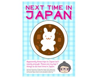 Next Time in Japan - travel zine - digital PDF