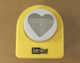 """Medium Heart Paper Punch 1 1/16"""" - for Bezel Trays, Jewelry Making and Scrapbooking"""