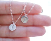 Children's Initial Necklace - Sterling Silver Childrens Necklace - Personalized Children's Jewelry