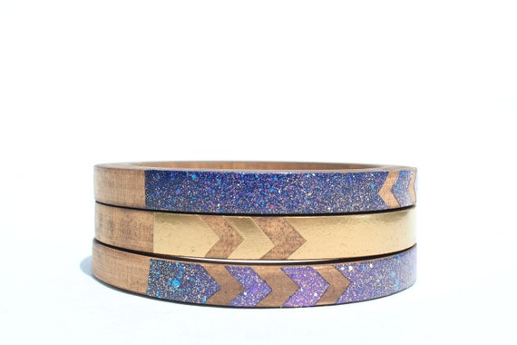 Bat for Lashes Skinny Bangle Set