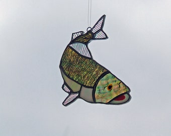 Stained Glass Walleye from Minnesota
