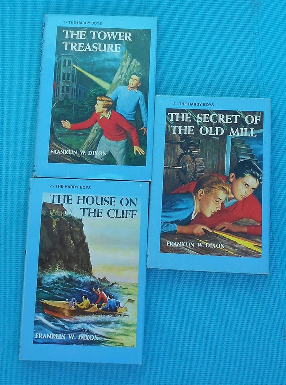 RESERVED - The Hardy Boys - Books 1, 2 and 3