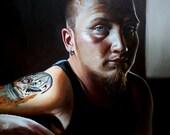 "Custom Portraits-9x12"" Oil Painting"