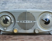 Vintage Zenith Alarm Clock Radio - Chassis 5J03 - PARTS ONLY