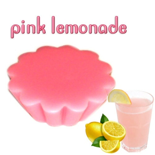 Pink Lemonade Tarts Wickless Candle by WoodcraftsandCandles