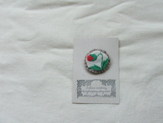little flower brooch no. 58