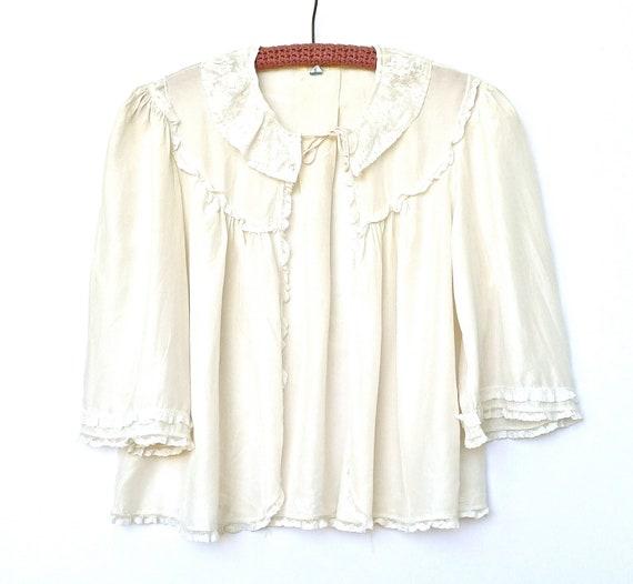 Vintage 1930s Bed Jacket