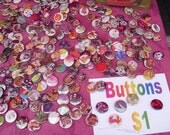 Pin Back Button Grab Bag