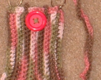 Hands Free Pod Snuggie, Crochet