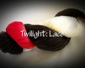 "TWILIGHT THEMED--KUAS Yarns: Lace Weight Merino--""Twilight"""
