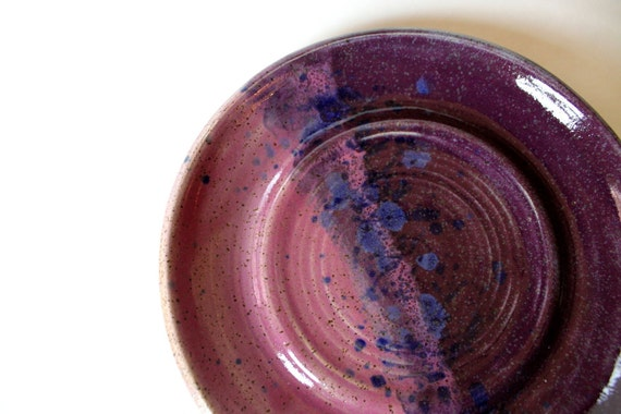 Clay Plate, Great for Saucer, Spoon Rest, Coin Catcher or Candy Dish