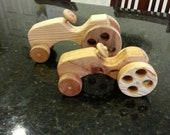Two Piece Toy Tractor Set