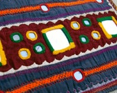 Tribal Indian Textile- Banjara Large 6