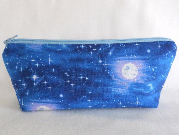 Moonlight Cobalt Pouch
