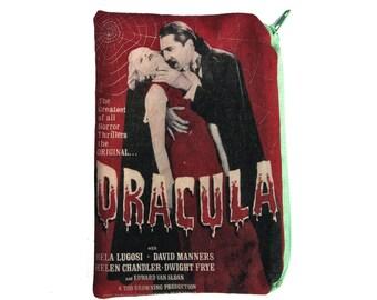 Dracula Zipper Pouch