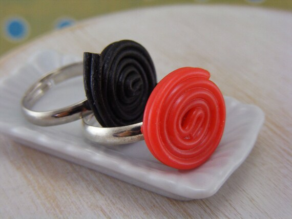 Liquorice Ring - Choose Your Favorite  - ON SALE
