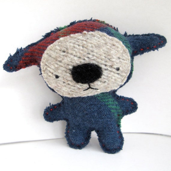 Lorne Foo - Recycled Wool Plush Toy