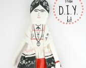 Frida Kahlo Doll D.i.Y kit