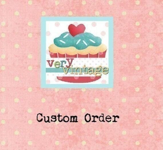 Custom Listing for TheFoxAndFable
