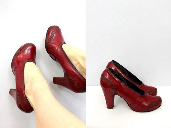 Crimson Red Heels - Red Heels Vip