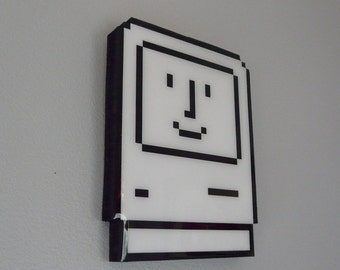 mac daddy - apple computer wall art