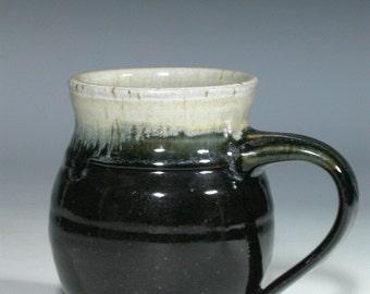 Stoneware pottery mug