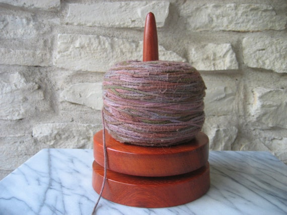 Knit and Spin ( African Coralwood)