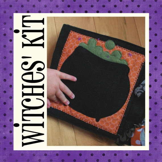 KIT for the Witches' Brew Quiet Book