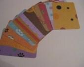 Pet-Cat-Dog-Journal Cards-Project Life-3X4-Ephemera-December Daily-Scrapbook ATC
