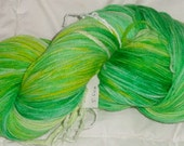 Stuff's Midori Punch IV handpainted Superwash Merino Sport Weight Yarn 451 yds 5.5 oz.
