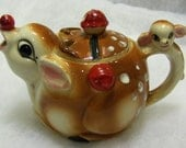 Vintage Teapot - Ruldolf the Red Nose Reindeer