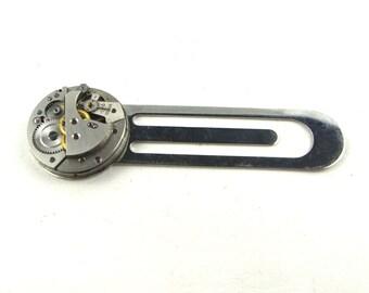 CLOSING DOWN SALE Steampunk Vintage Watch movement bookmark