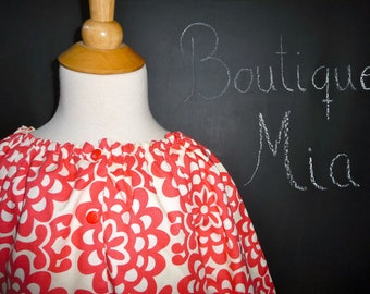 SAMPLE - Reversible Lightweight Jacket - Will fit Size 4T up to a 7 yr  - by Boutique Mia and More - Ready To Ship