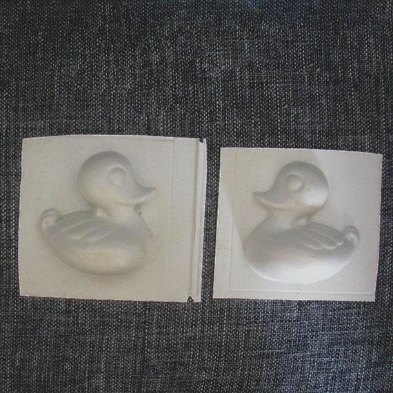 2 Vintage Duck Craft Molds molding supplies