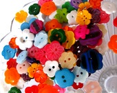 Buttons Flower Garden Button Bag 50g 40z