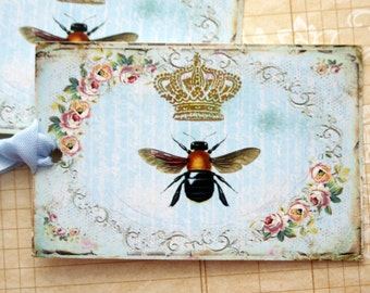 Queen Bee Gift Tags
