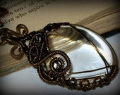Wire Wrapped Vintage Magnifying Glass