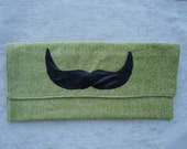 Mustache Clutch Purse Salvadore DALI  Fabulous and trendy