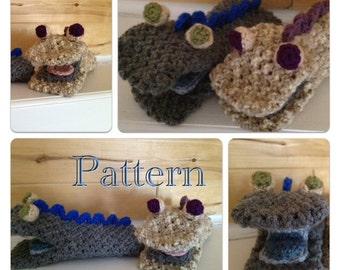 PDF Pattern Crochet Hand Puppet